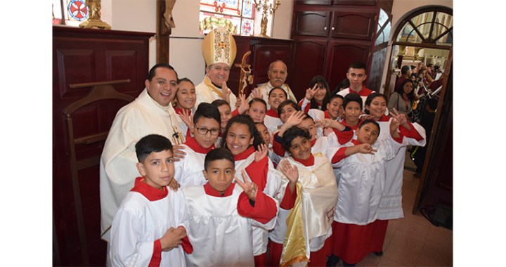 Celebraron Solemnidad al clamor ¡Viva Cristo Rey!