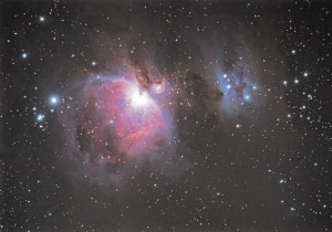 SAPR - Foto de Nebulosa de Orion tomada desde Santa Isabel por Carlos Casaldeiro