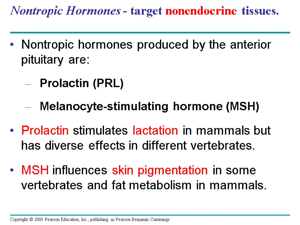 Chapter 45 Hormones And The Endocrine System Overview