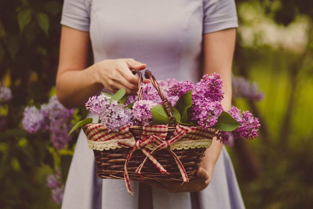 basket as a gift