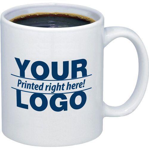 Imprinted mug as a corporate gift