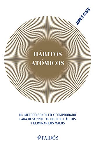 "Libro ""Hábitos atómicos"" de James Clear"