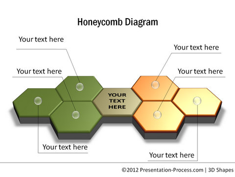 Homeycomb Shape Diagram