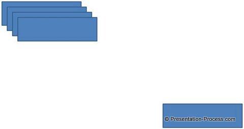Align boxes for steps