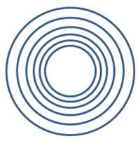 Aligned Concentric Circles