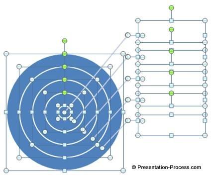 Paste Back SmartArt Diagram Elements