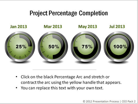 Project Completion Timeline from CEO Pack 2