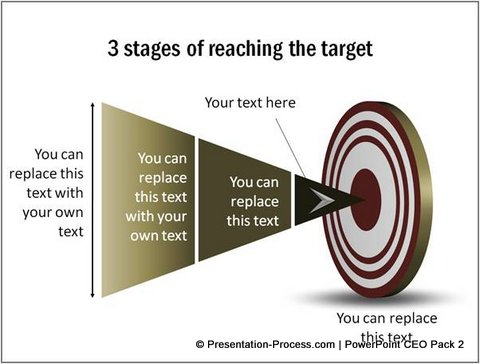 PowerPoint Target Templates from CEO pack 2