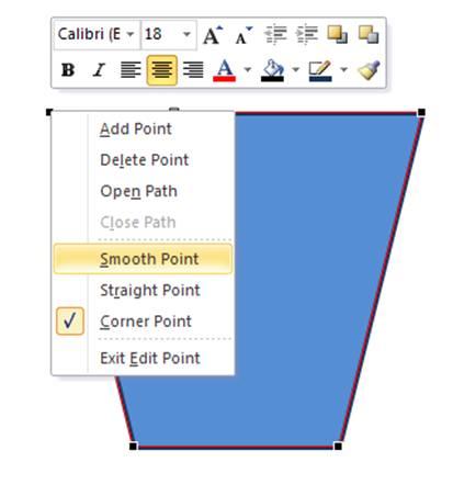 Shape Right Click Menu