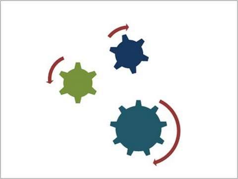 broken PowerPoint SmartArt diagram: