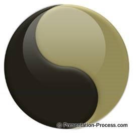 Yin Yang in PowerPoint
