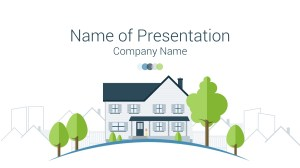 Real Estate PowerPoint Template  PresentationDeck