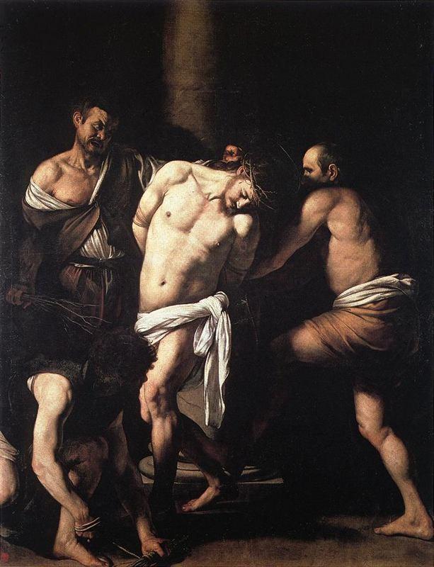 Flagelação de Cristo - Caravágio