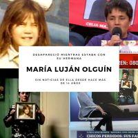 María Luján Olguín - De jugar con su hermana a desaparecer hace 14 años