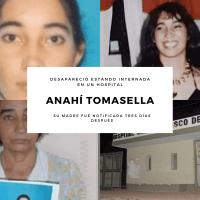 Anahí Tomasella  – Desaparecida en un hospital psiquiátrico