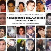 Adolescentes desaparecidos en Buenos Aires: casos poco conocidos