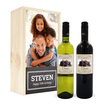 Vin med egen etikett Image