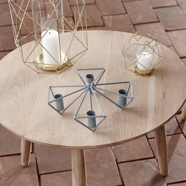 Hübsch - Ljusstake för 4 stearinljus Image