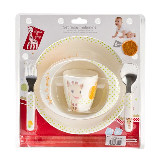Sophie the giraffe - Meal Time Set Image