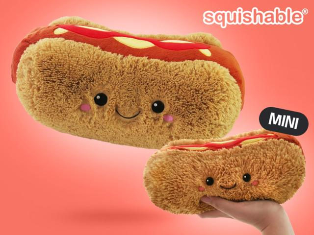 Squishable Hot Dog Gosedjur Image