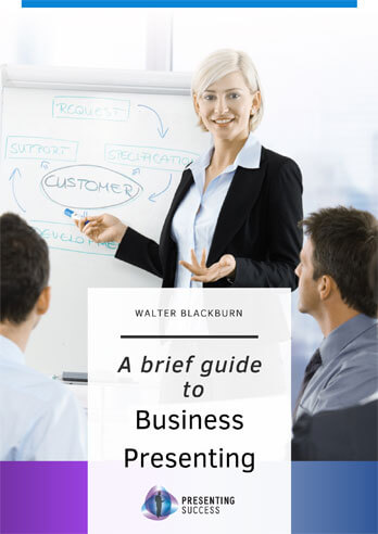 Guide to business presenting book