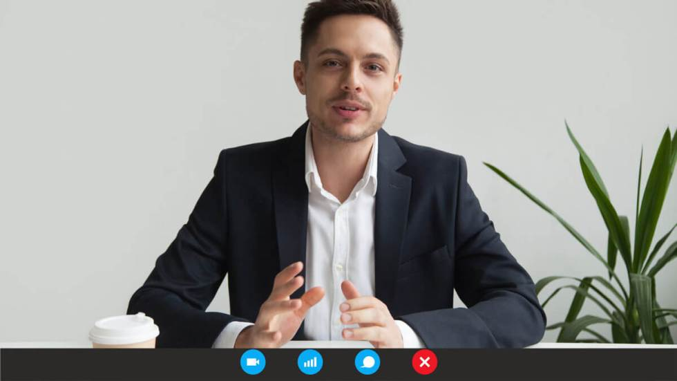 looking smart for an online interview