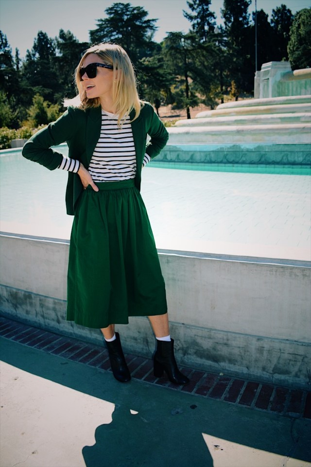 128f606f87 green skirt. green skirt. green skirt. green skirt. green skirt. What I'm  wearing: Green full midi-skirt is a few years old from Zara ...
