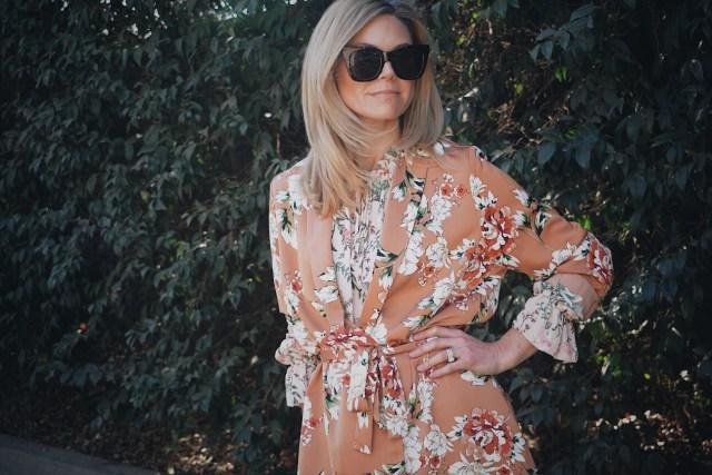 Floral Jacket + Floral Blouse + Floral Outfit