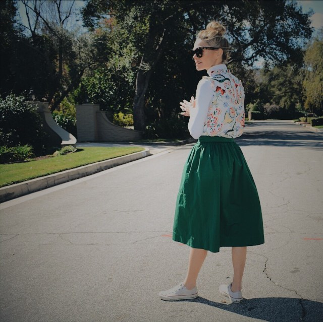 Spring Top + Spring Skirt + Spring Outfit 2018