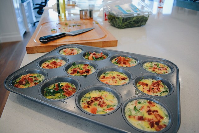 Glow15 Egg Muffins with Bacon