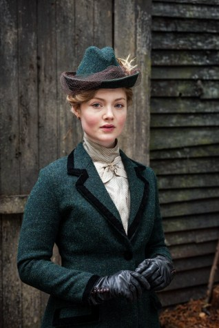 Lady Chatterley's Lover BBC 2015 tweed riding costume