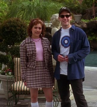 Clueless movie Tai tweed outfit