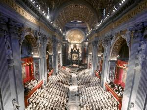 Opening Of The Vatican Ii Council In 1962