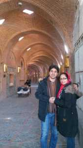 Pastor Amin Khaki and Wife