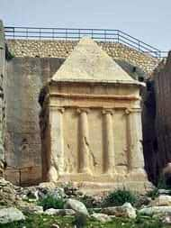 Zechariah's tomb