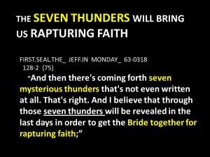 Rapturing Faith