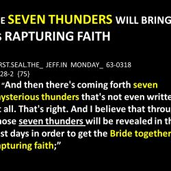 Rapturing Faith