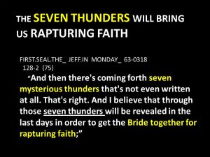 Rapturing Faith | Present Truth Ministries