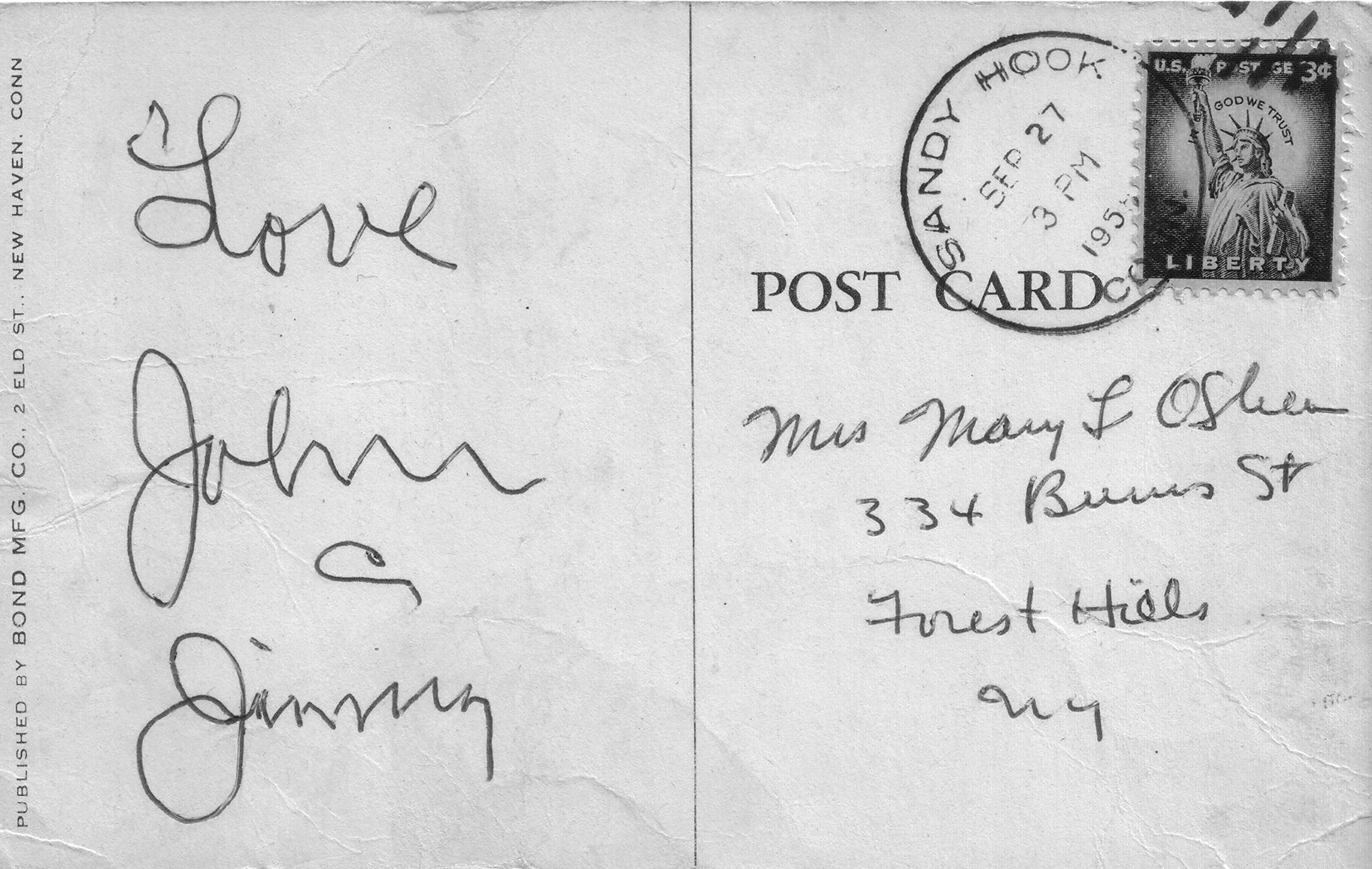 sandy-hook-ct-postcard-back