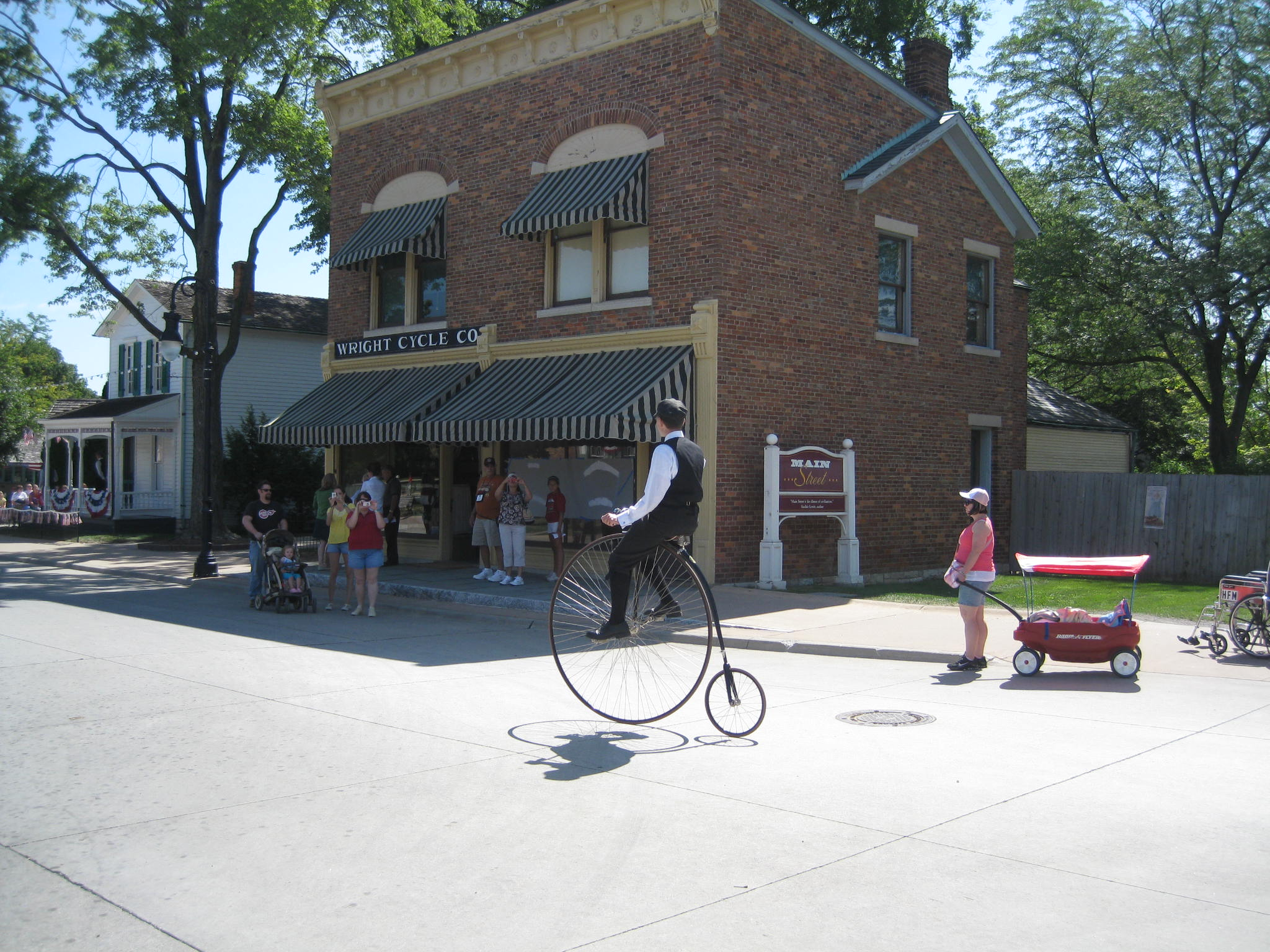 The Wright Brothers Bicycle Shop - Greenfield Village.