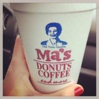 More coffee. From Ma's in Newport, RI.