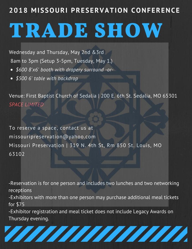 Trade Show flyer