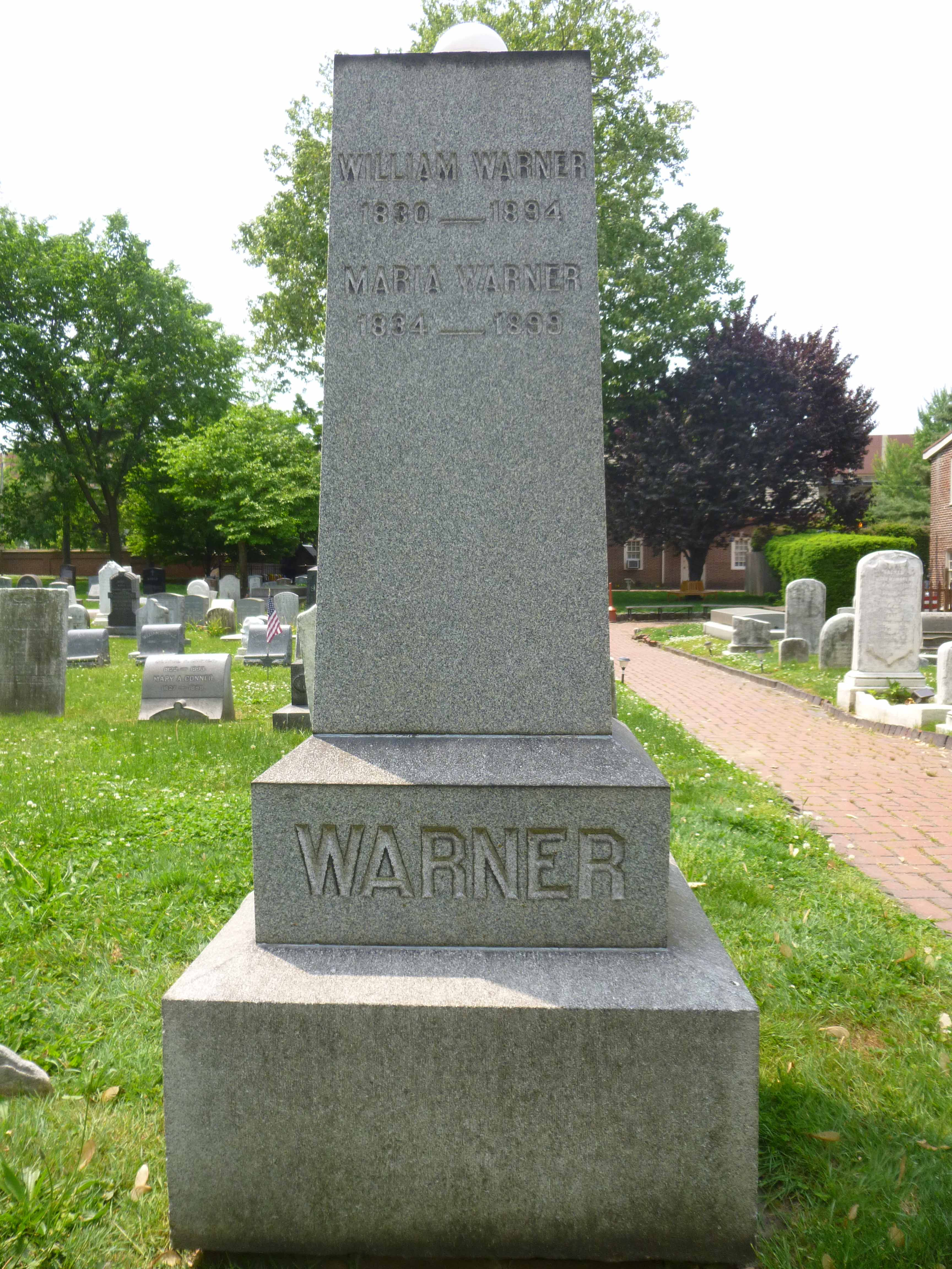Read more about the article William and Maria Warner
