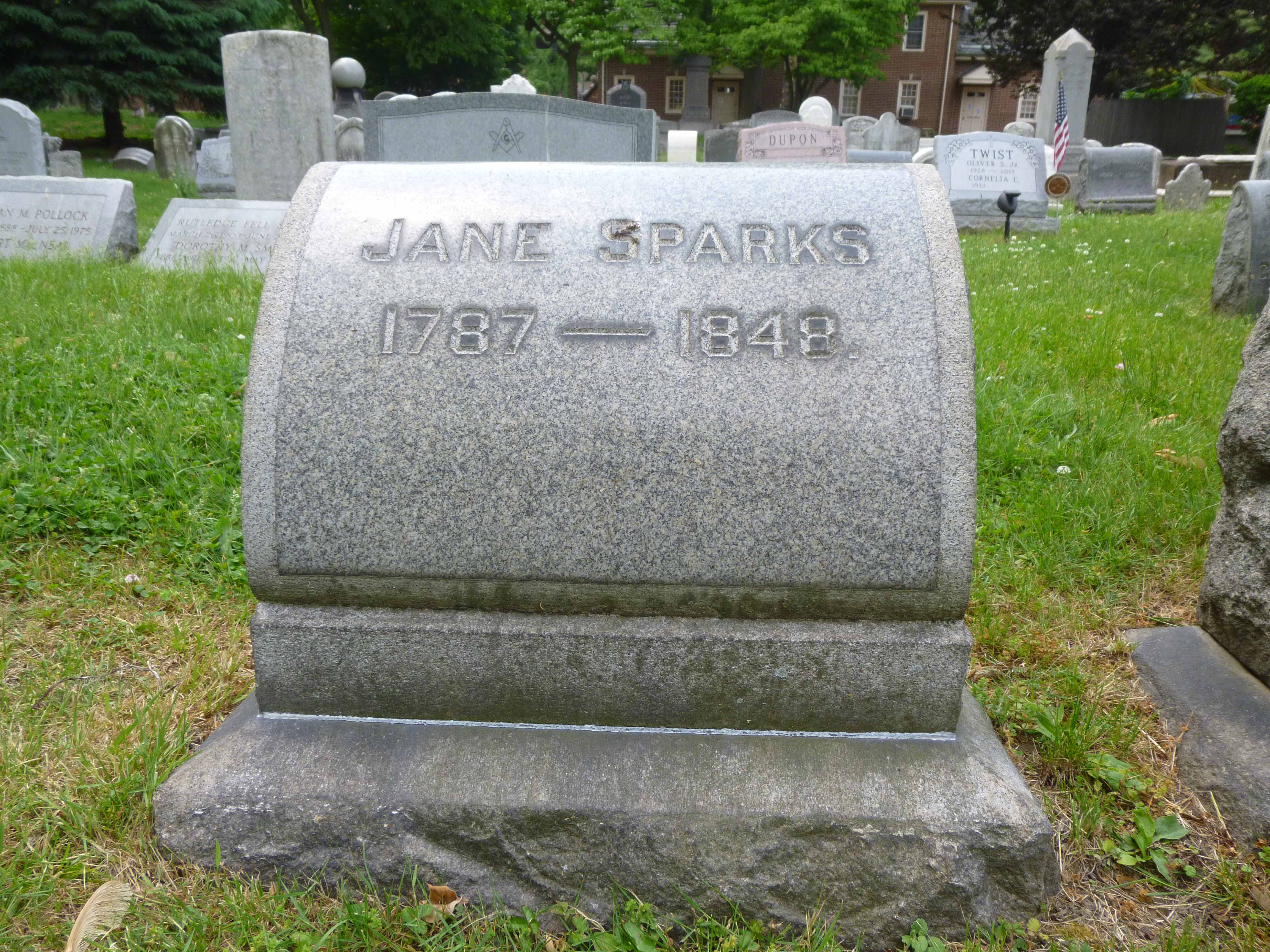 Read more about the article Jane Sparks