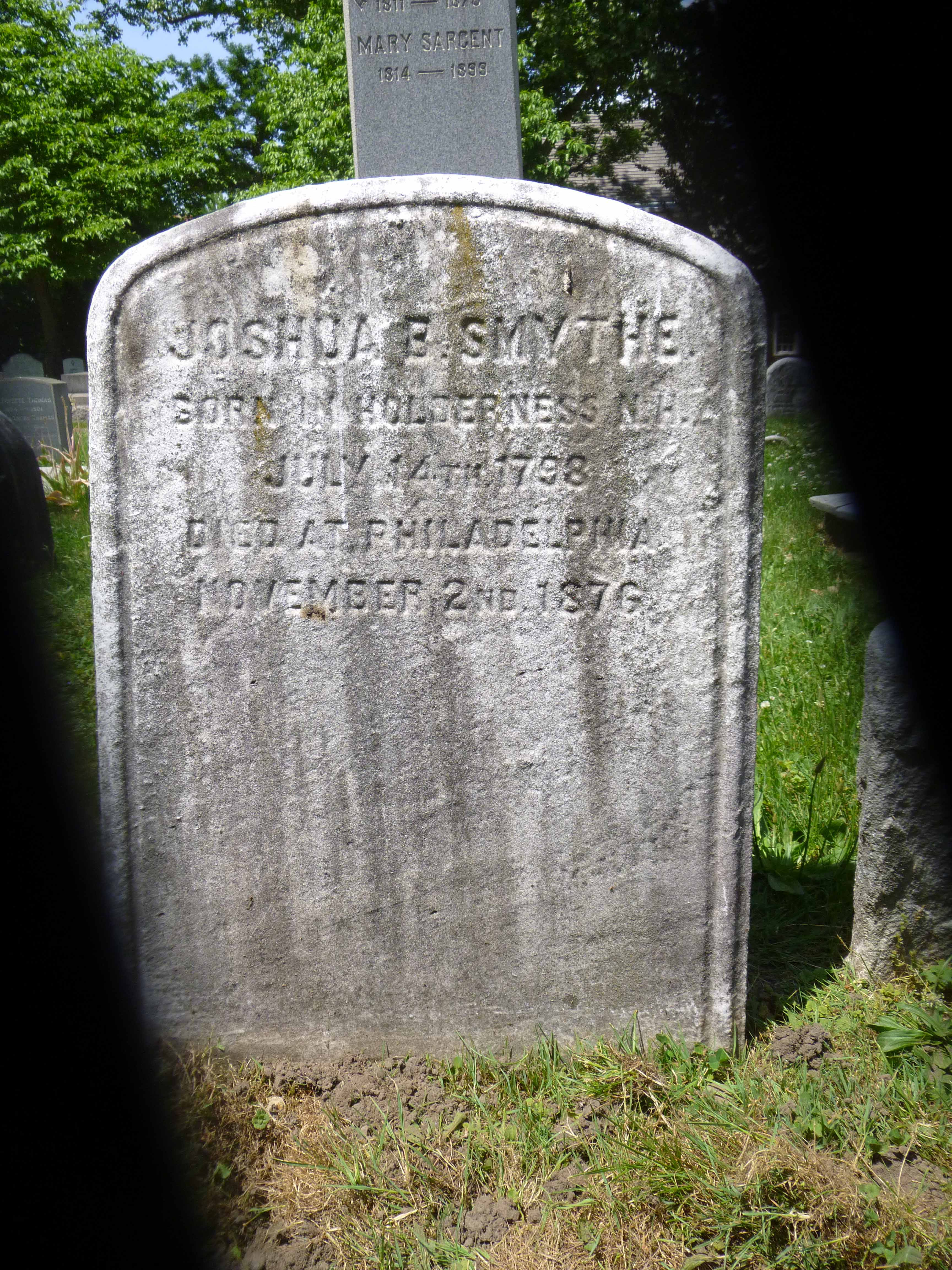 Read more about the article Joshua B. Smythe