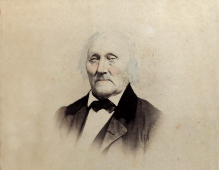 A portrait of Jacob Jackson.