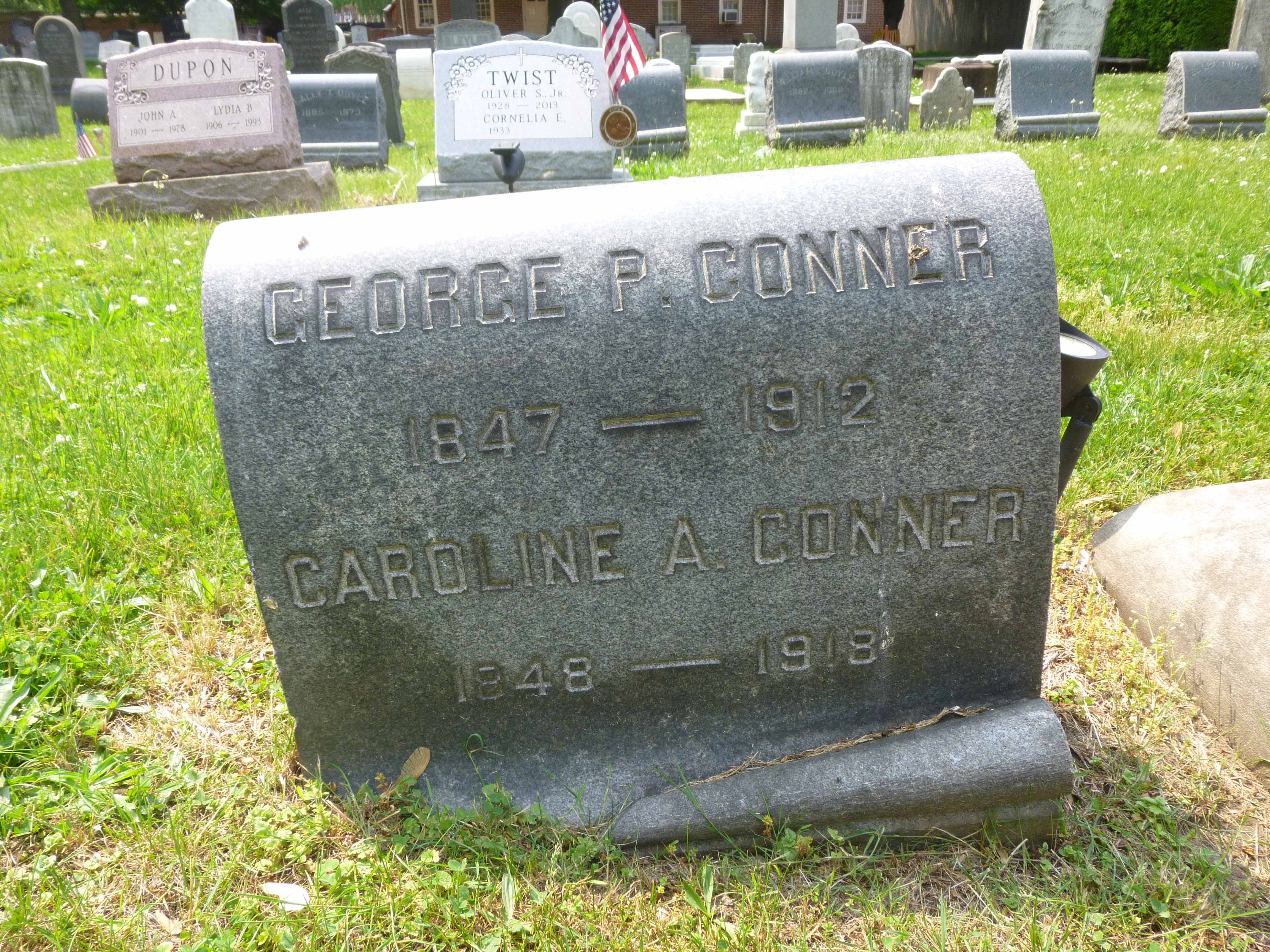 Read more about the article George and Caroline Conner