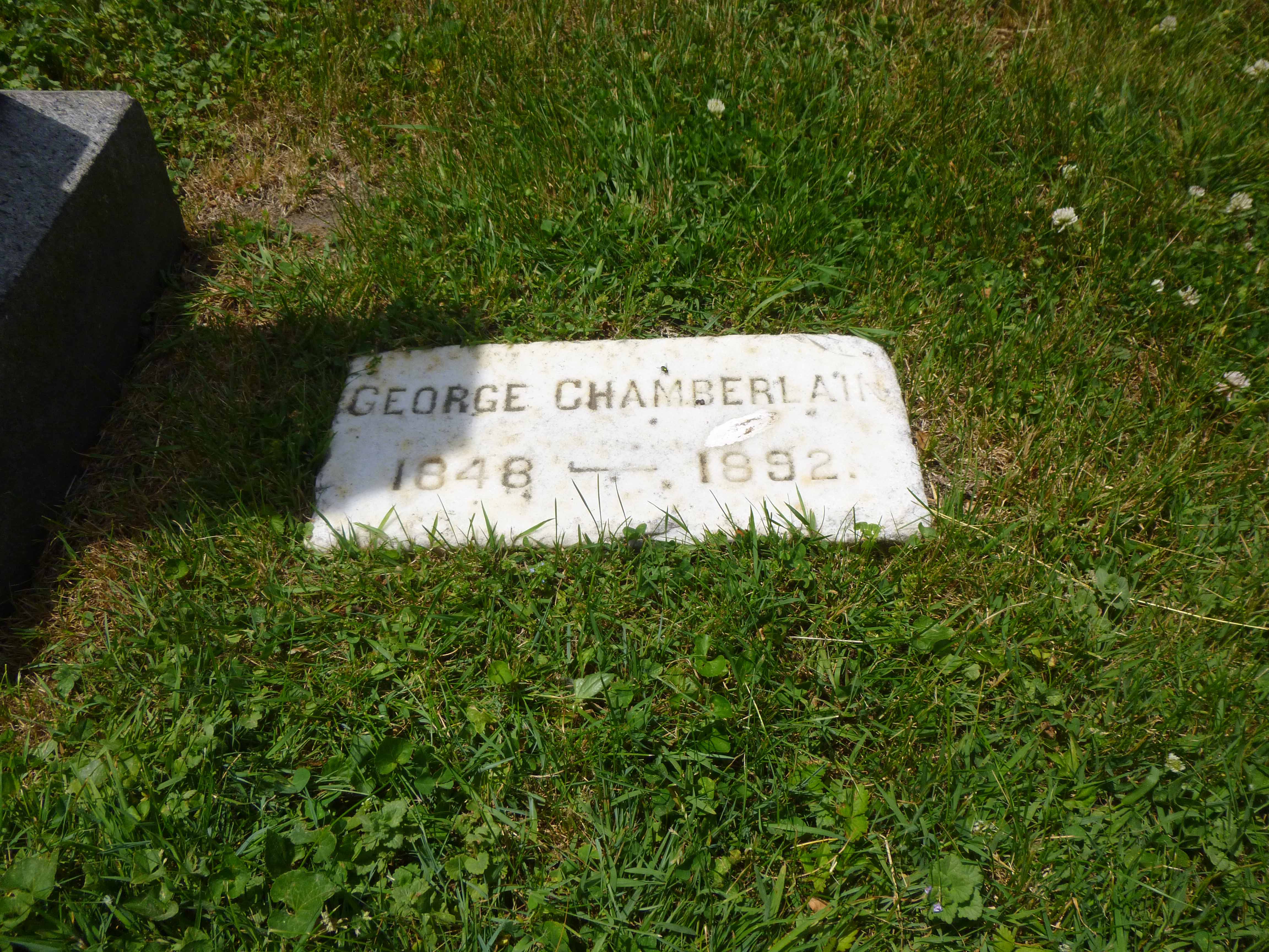 Read more about the article George Chamberlain