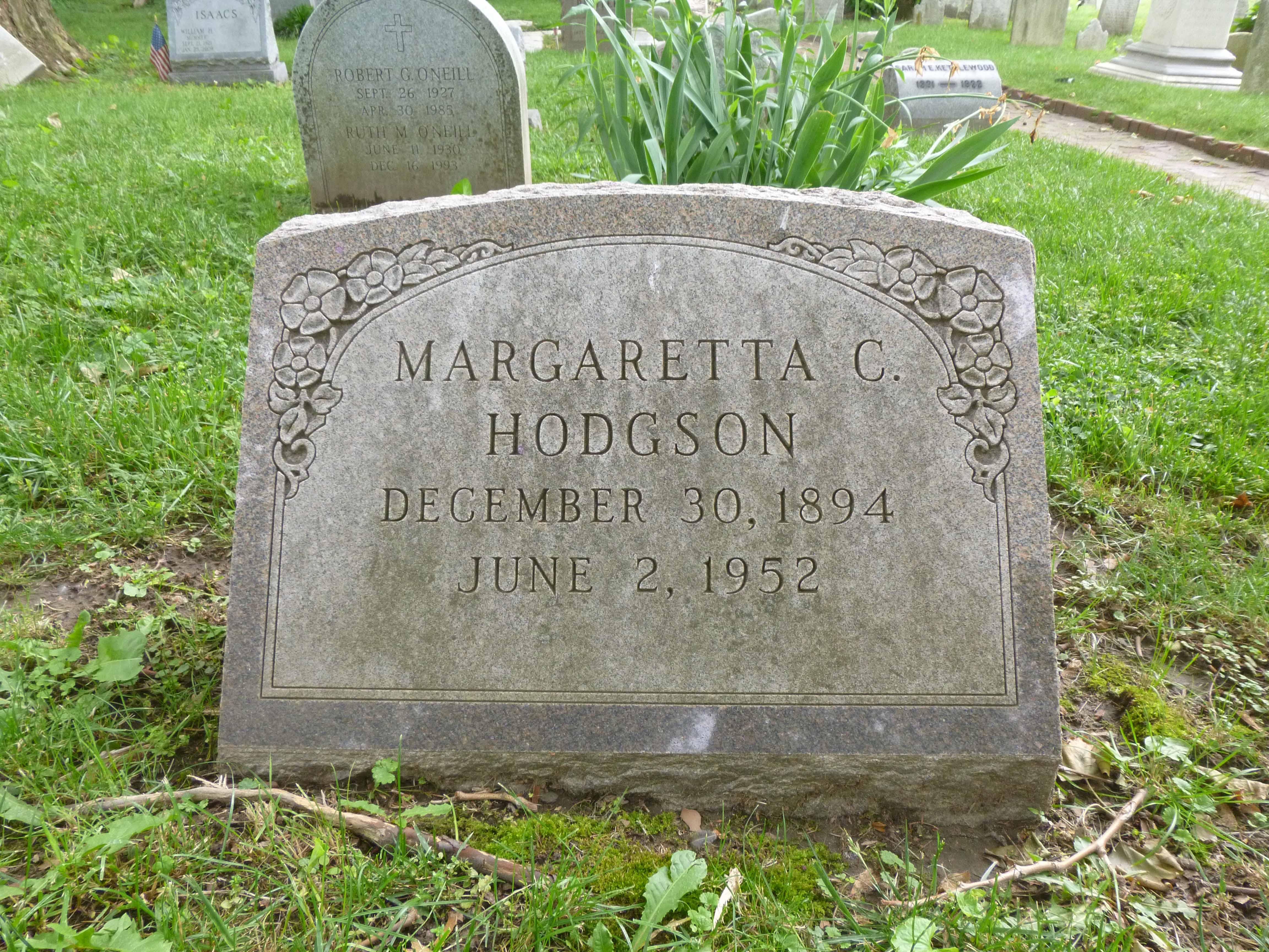 Read more about the article Margaretta C. Hodgson