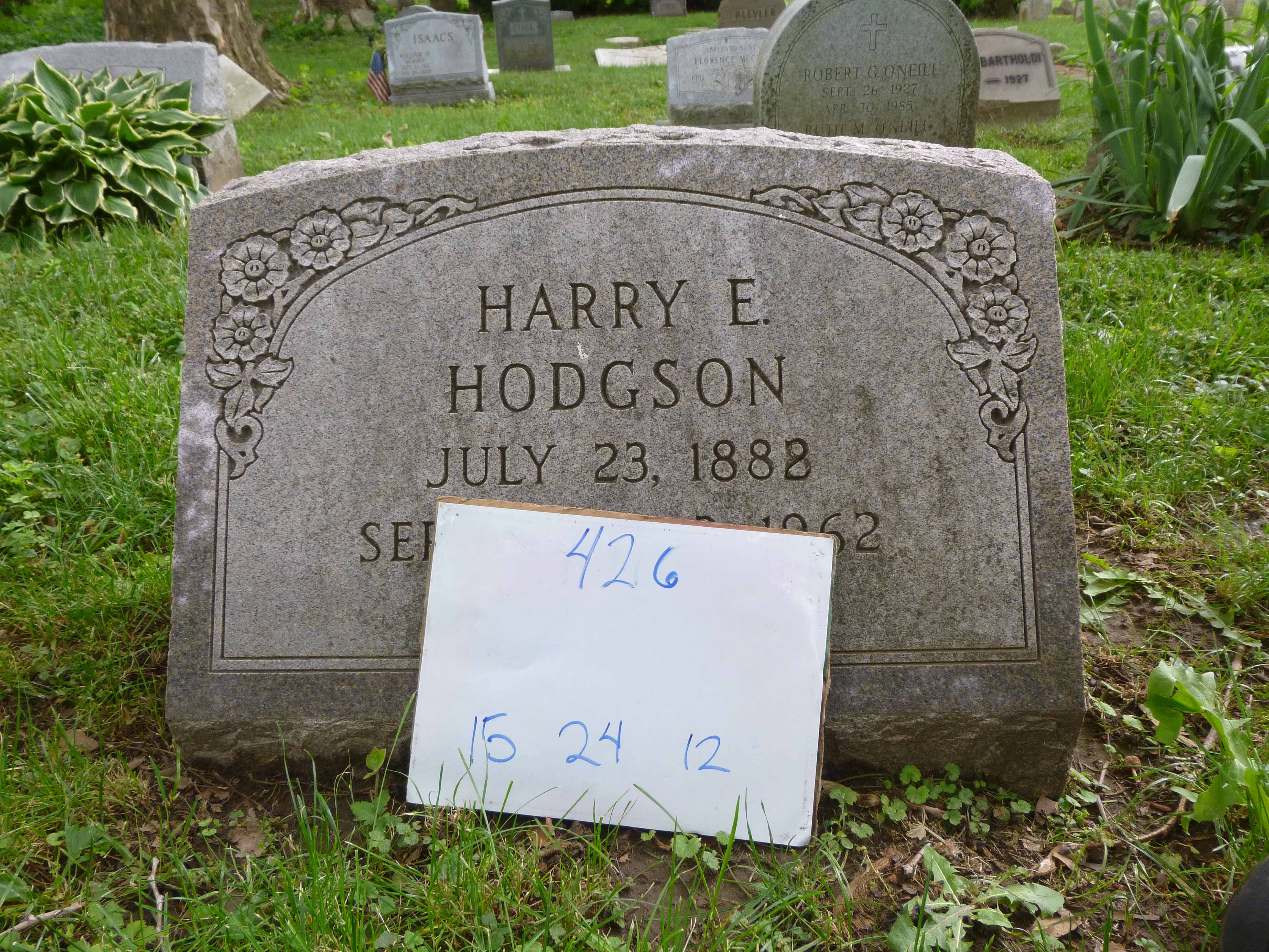 Read more about the article Harry Hodgson